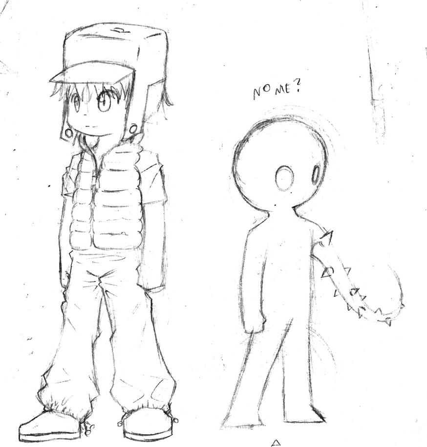how to draw a cartoon little boy