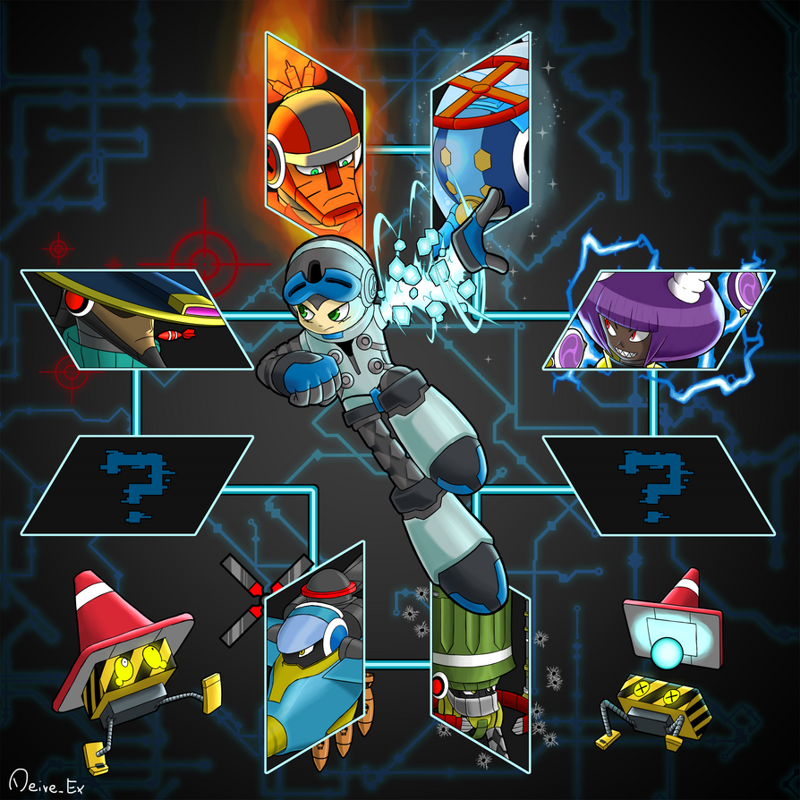 Mighty No. 9! by DeiveEx
