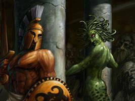 Perseus-Medusa by sexlex