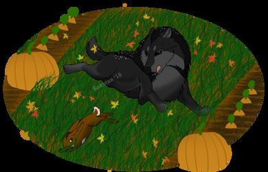 CE huntin wabbits by Kokutan-Wolf