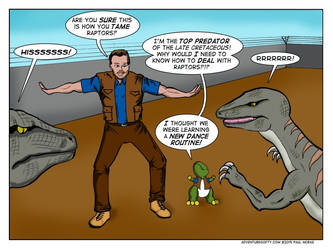 Adventures Of Ty - Raptor Trainer Wanted