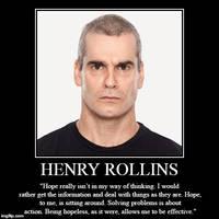 Henry Rollins Motivational Poster