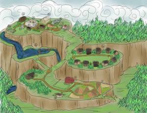Goldenrod Village Map