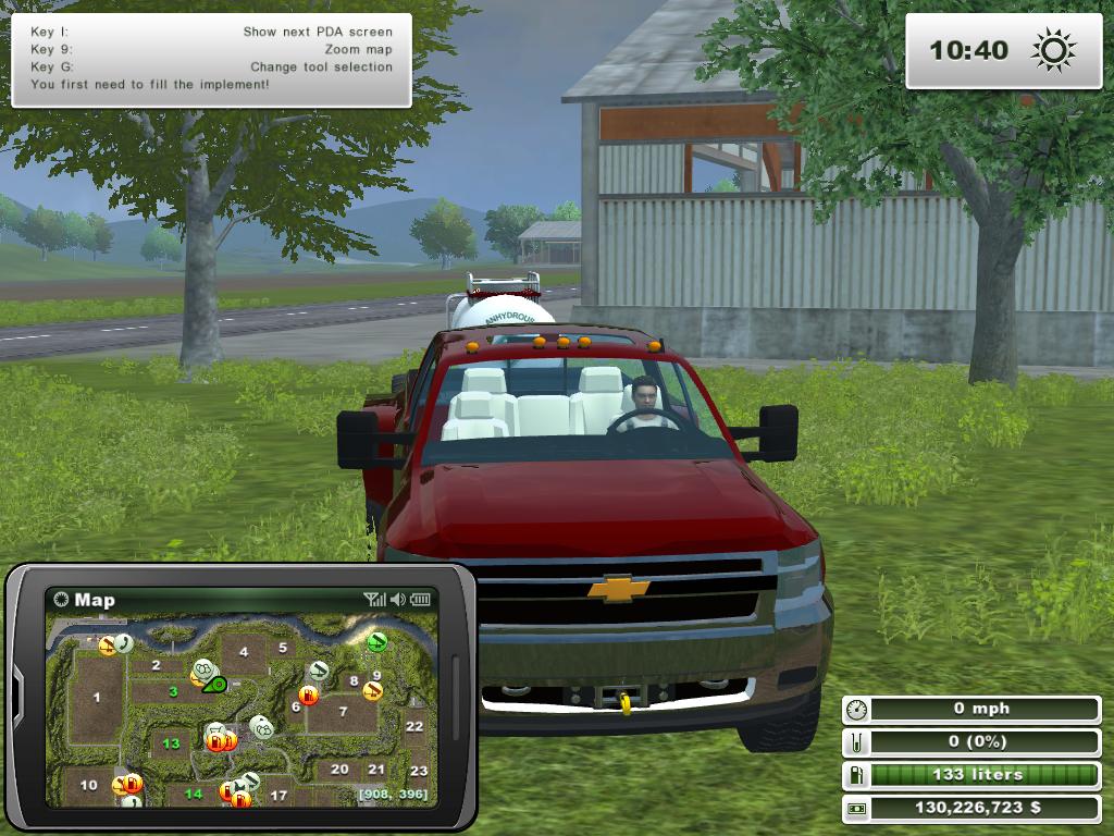 Chevy mod for farming simulator 2013 by piggleland mania