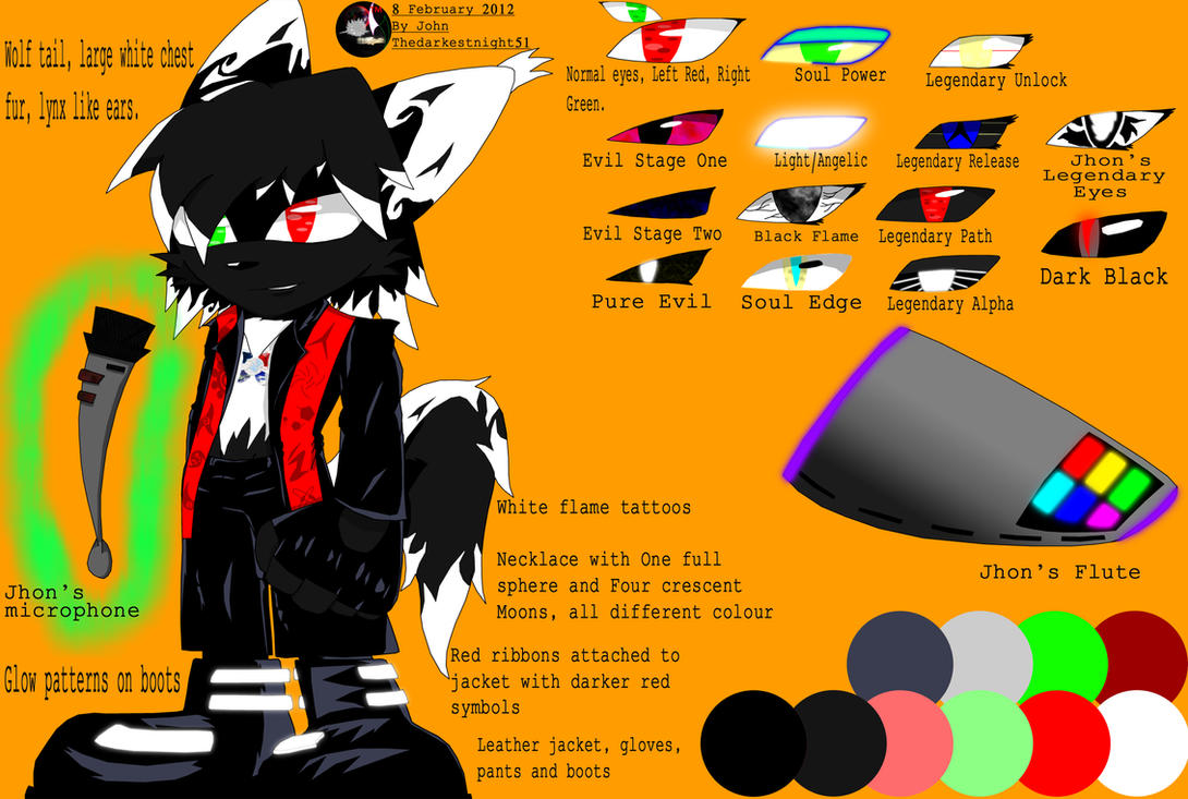 Jhon The Abyss Ref Sheet by Thedarkestnight51