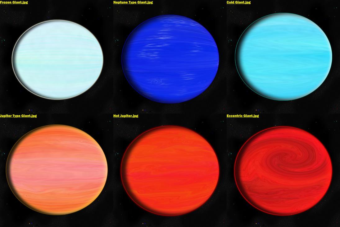 four gas giants - photo #41
