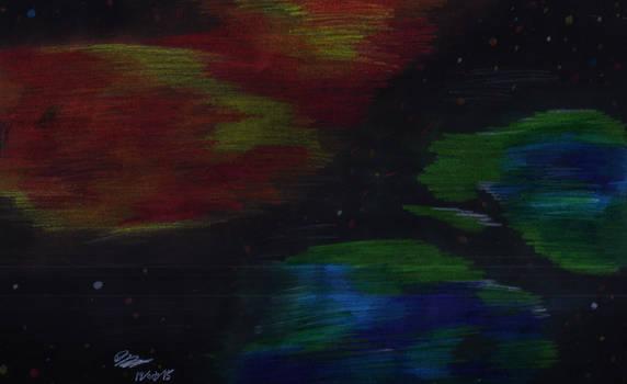 Pencil Nebulae