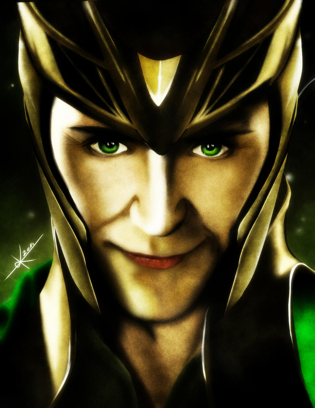 Loki - God of Mischief by 0-Marimo-0 on DeviantArt