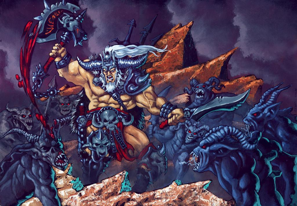 Barbarian Diablo III Fan Art Contest by CAOZXL
