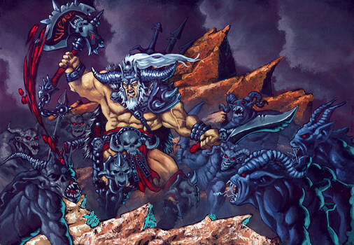 Barbarian Diablo III Fan Art Contest