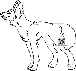 Maned Wolf - PTU - Sai/Paint Friendly - CHEAPER