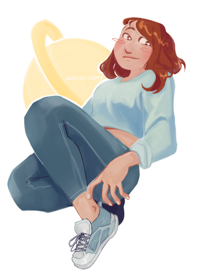 uraraka painting test by almost-casey
