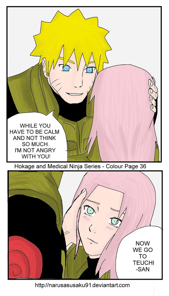 NaruSaku - I am not angry with you by NaruSasuSaku91