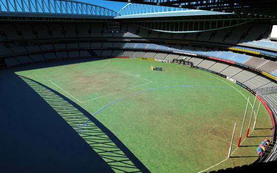 Etihad Stadium View from top