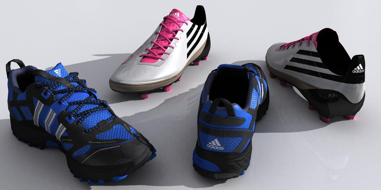 Adidas Shoes by senor-freebie ...