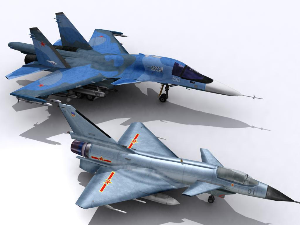Su34 J10 new render by senor-freebie