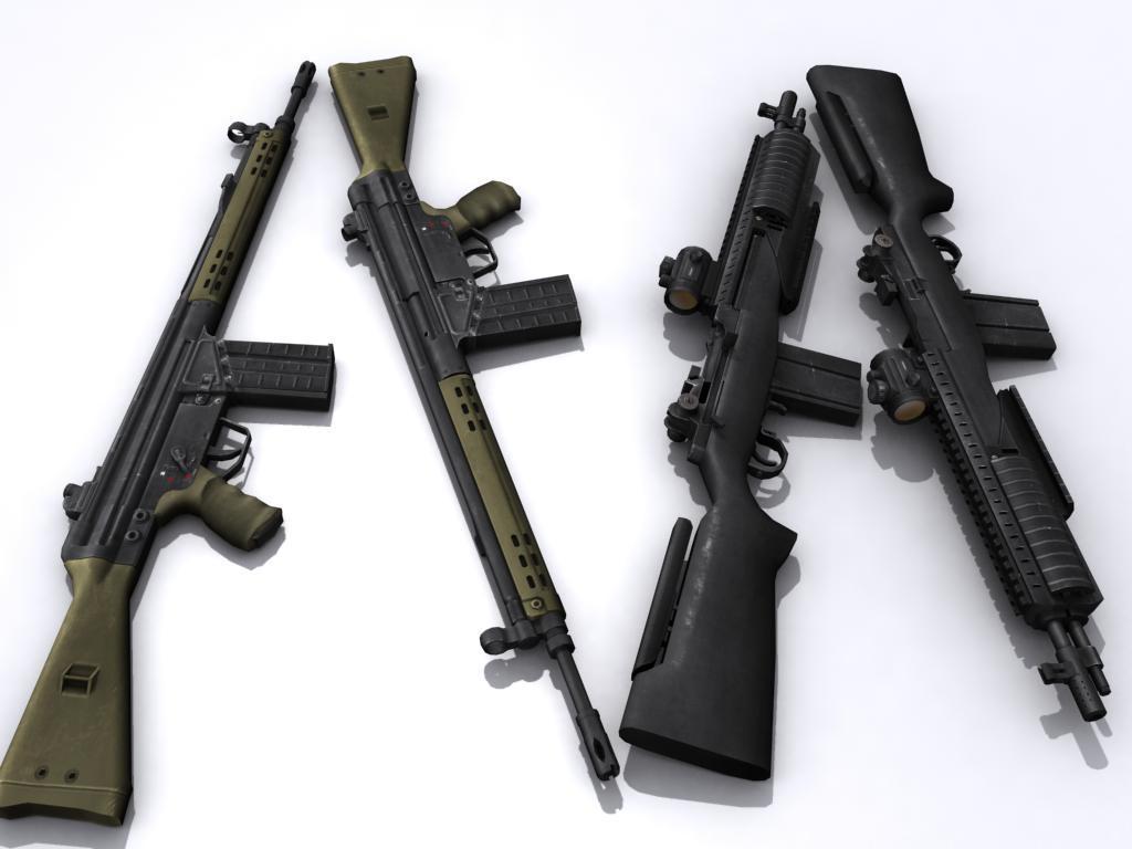 M18 G3A3 textured by senor-freebie