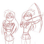 A Tale of Two Maidens by nobodyhares