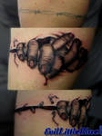 Zombie hands coverup