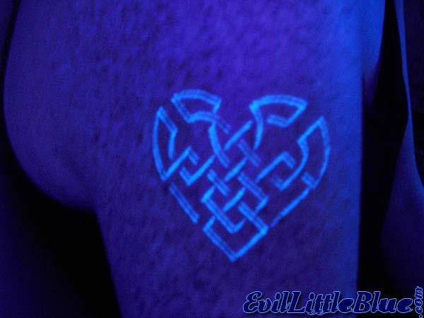 Labels: Another Few Blacklight Tattoos