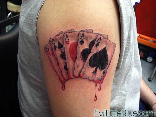 dead mans hand by evillittleblue on deviantart