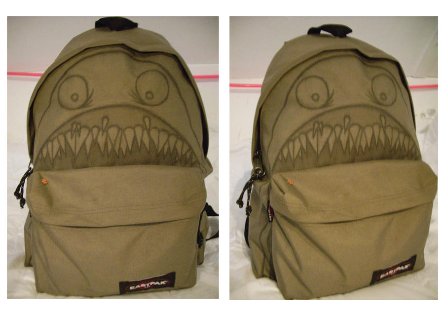 Backpackeating monster by A-mieke