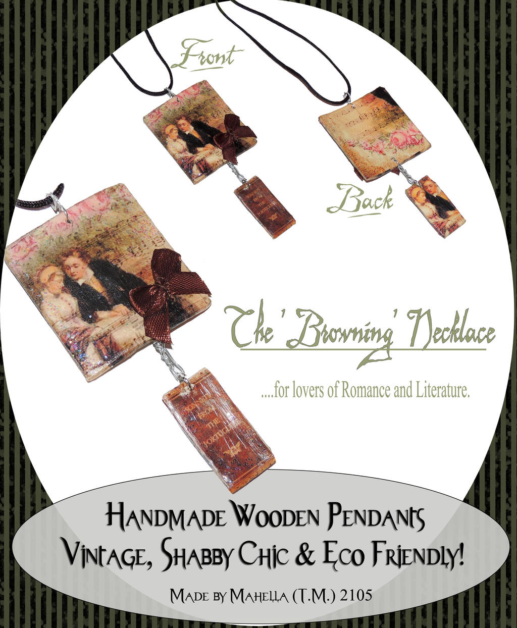 browning couple necklace