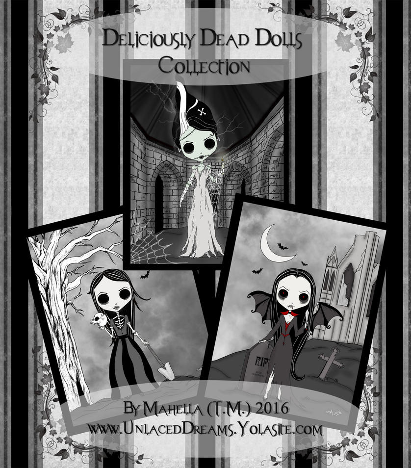 Dead Doll Collection Ad by LostMemoryOfADream