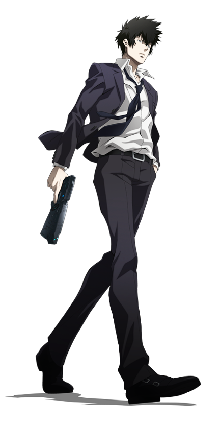 Kogami Shinya - PSYCHO-PASS Anime Render by CloudNova