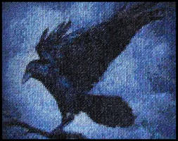 Perching Raven - Complete!