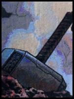 Mjolnir by MadXStitcher