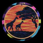 African Giraffes by MilesyART