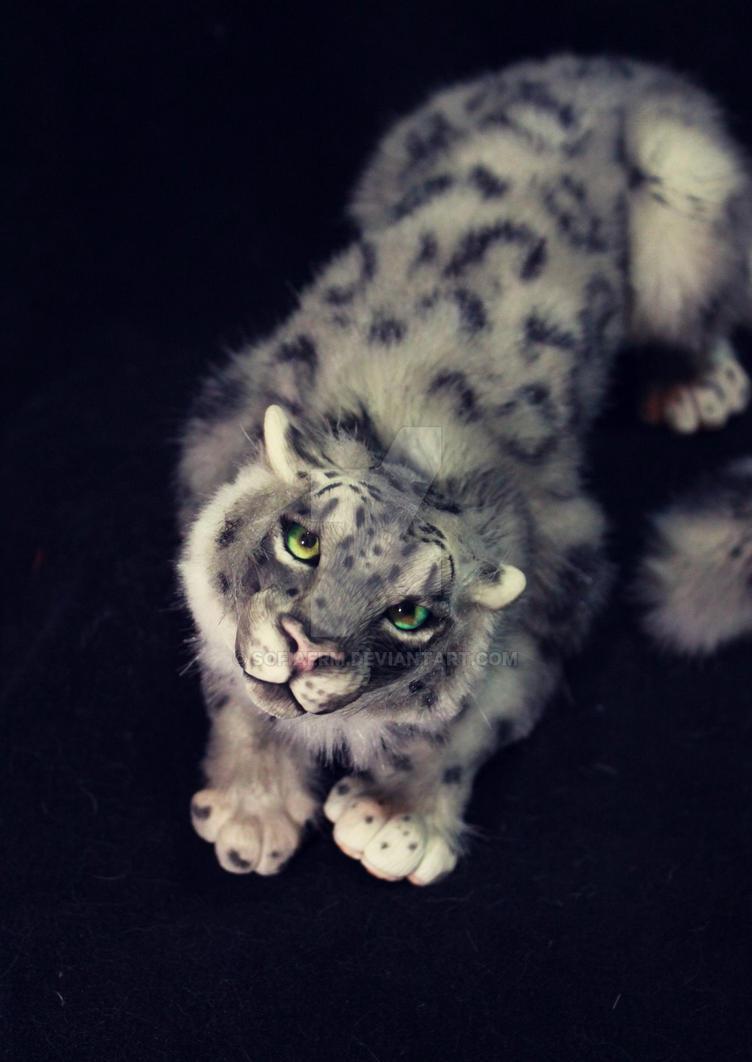 Snow Leopard by SofiaERM