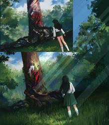 Screenshot Redraw: Inuyasha by Sourful