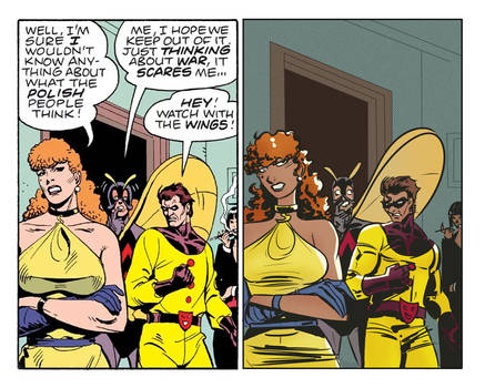 Homage to Watchmen by Dave Gibbons