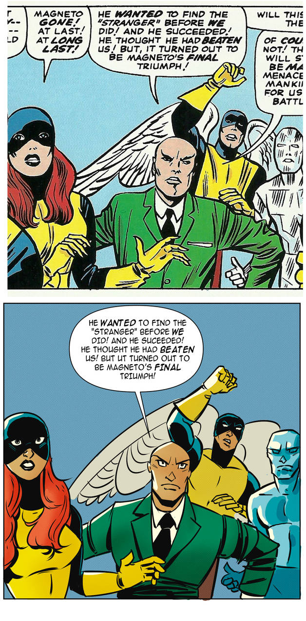 Homage to X-Men by Jack Kirby