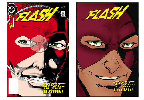Homage to Flash #30 by Greg LaRocque