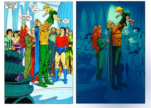 Homage to Aquaman by Curt Swan