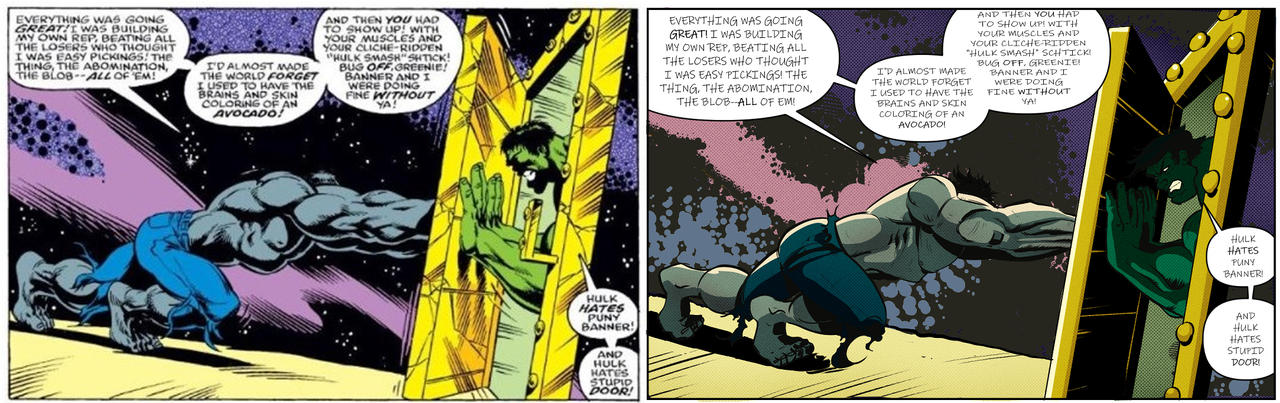 Homage to Hulk by Dale Keown