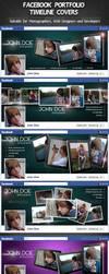 Facebook Portfolio Timeline Cover by Kamarashev