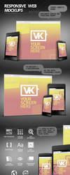 Responsive Web Mockups by Kamarashev