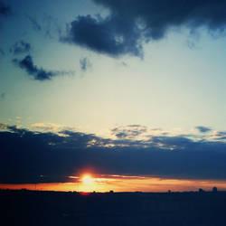 Sunset I by LisbethFleur