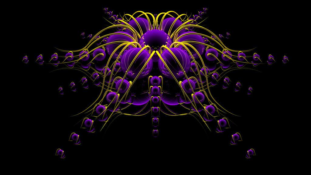 A'Fricken Violet by TylerXy