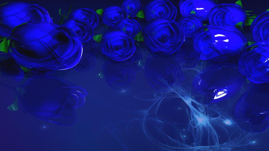 Blue Rosez 2 by TylerXy