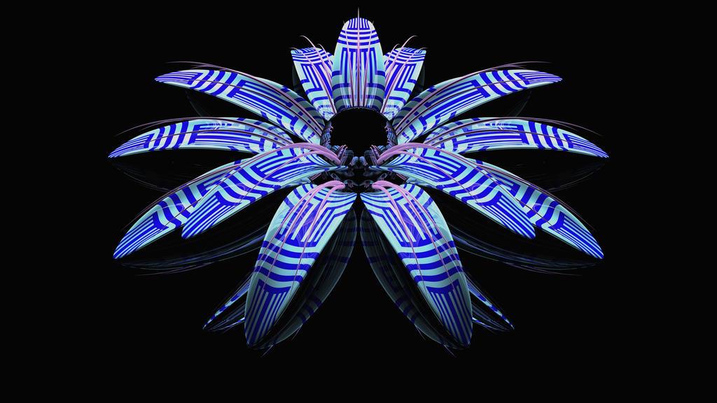 Tribal Flower by TylerXy