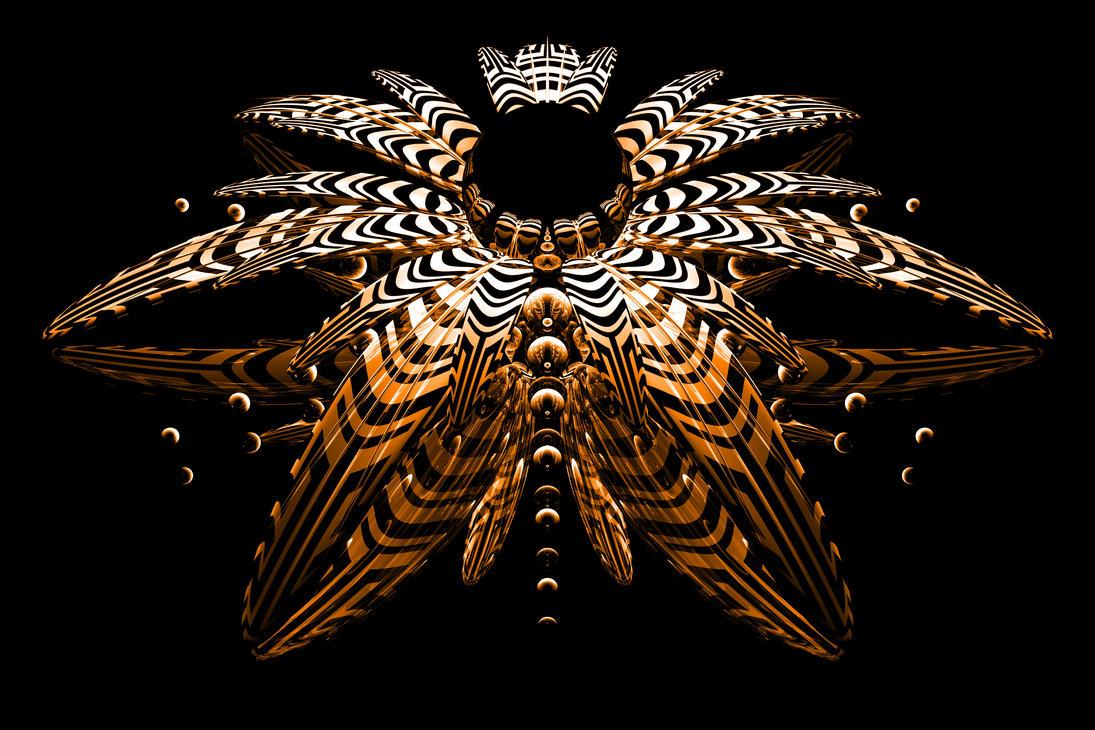Digital Tiger Lily by TylerXy