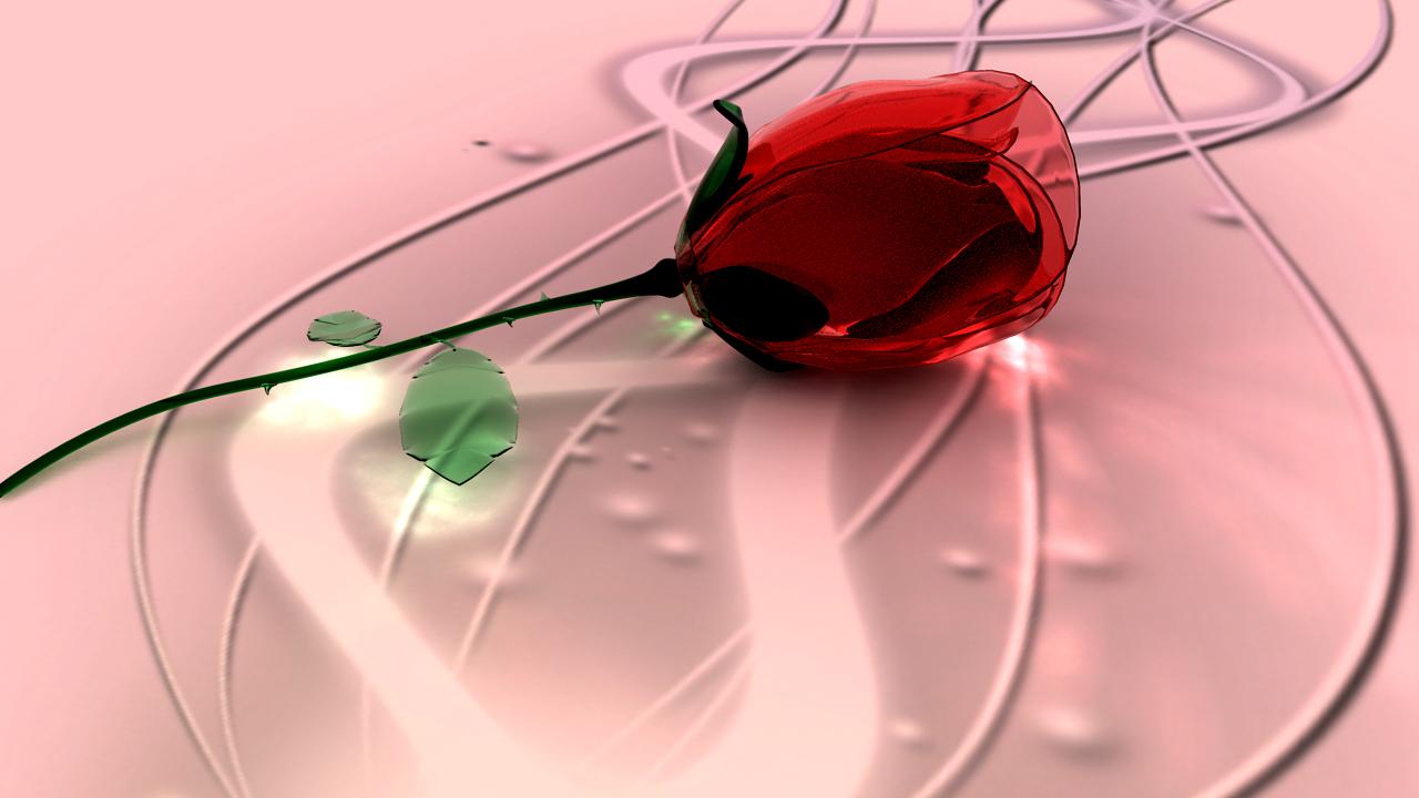 Glass Rose One by TylerXy