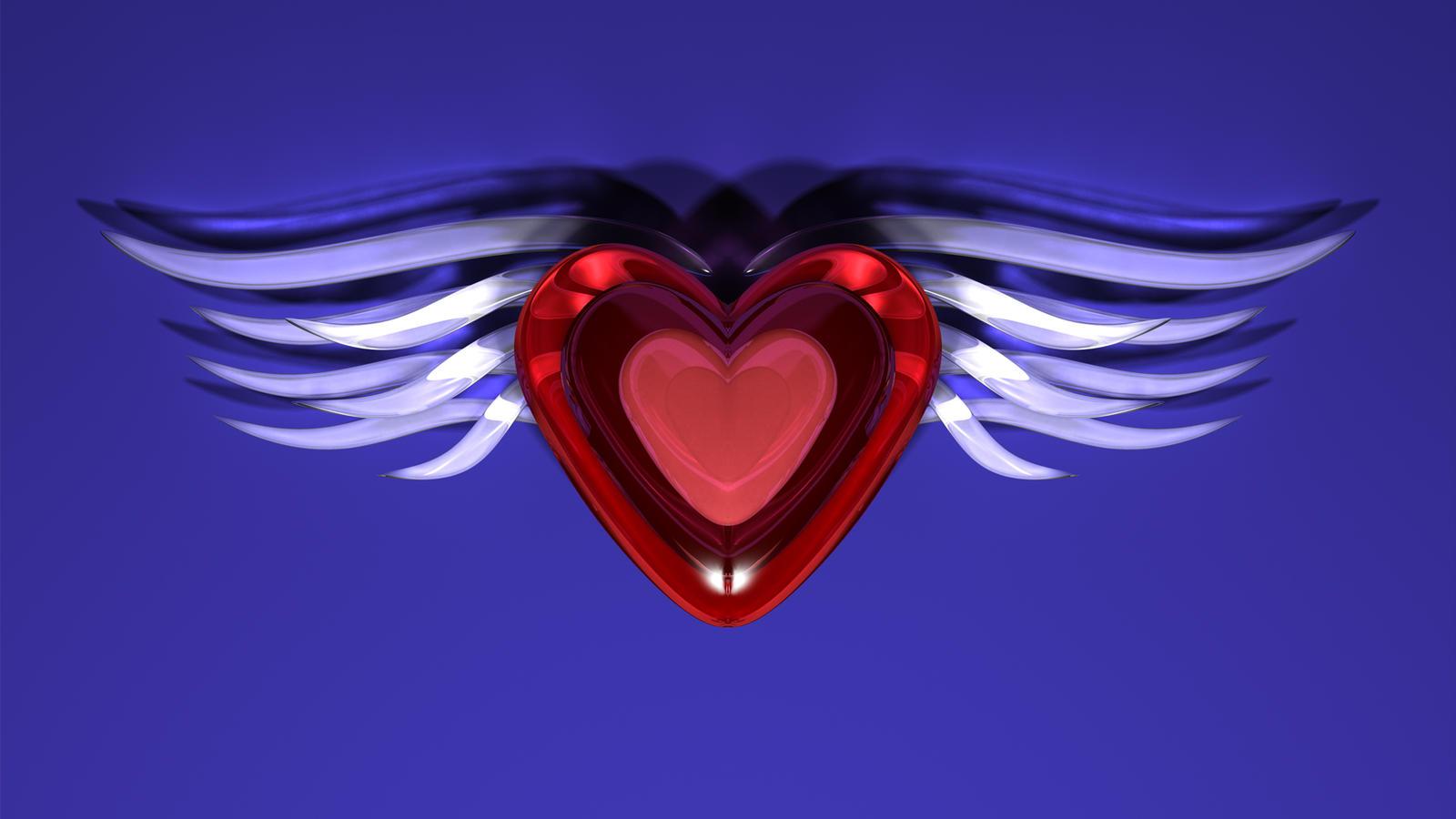 Winged Heart Two by TylerXy