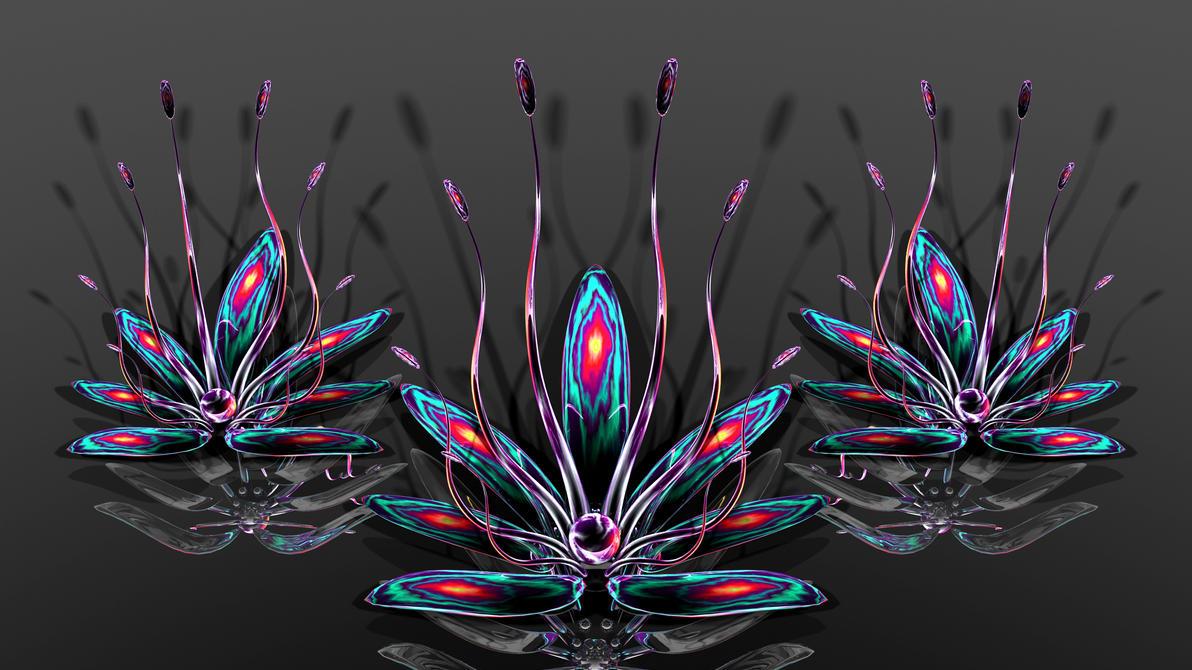 TyXy-Dyed Flowers by TylerXy