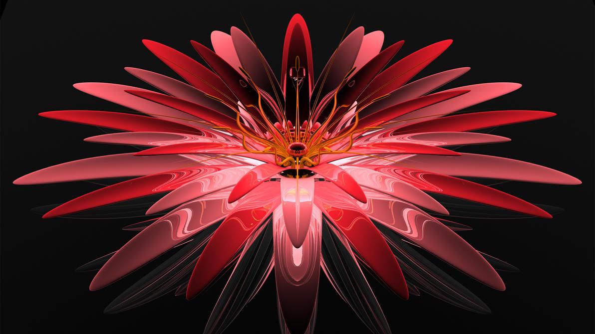 Pink Flower by TylerXy